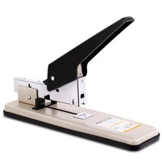 Deli 0394 Heavy Duty Stapler 100 Paper Sheets Thick Large Arm Repair Book Make Book Staplers Office Binding Machine DropShipping - Your Computer and Office Discount Store Staplers, Deli, Campaign, Arm, Medium, Store, Paper, Book, How To Make