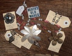 antique and costume jewellery for sale at heaths old wares and collectables with industrial antiques 12 station st bangalow nsw open 7 days 9 - 5 Vintage Jewellery, Costume Jewelry, Industrial, Gift Wrapping, Costumes, Antiques, Gifts, Gift Wrapping Paper, Antiquities