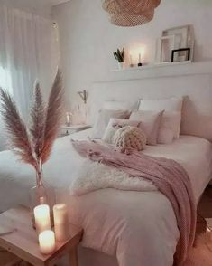 45 Cozy Teen Girl Bedroom Design Trends for 2019 Page 33 of 45 Cozy bedroom; The post 45 Cozy Teen Girl Bedroom Design Trends for 2019 Page 33 of 45 appeared first on Bedroom ideas. Home Decor Bedroom, Living Room Decor, Modern Bedroom, Contemporary Bedroom, Diy Bedroom, Stylish Bedroom, Bedroom Romantic, Blush Bedroom Decor, Blush Pink Bedroom