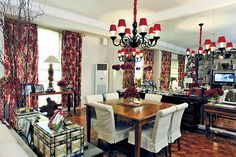 Dawn Zulueta's Three-Bedroom Condo with a Traditional Style Royal Queen, Dawn, Condo, Home And Family, Table Settings, Traditional, Bedroom, Filipino, House
