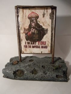 Image result for imperial guard posters terrain