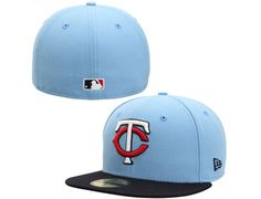 Custom Minnesota Twins 2-Tone Southpaw 59Fifty Fitted Baseball Cap by NEW ERA x MLB