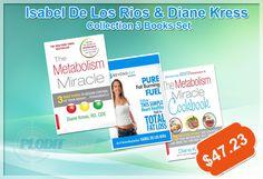 Plodit Wholesale offer Isabel De Los Rios & Diane Kress Collection 3 Books Set at best price. #Cookbook #foodanddrink #dietbooks #recipebook