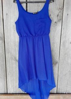 Kup mój przedmiot na #vintedpl http://www.vinted.pl/damska-odziez/krotkie-sukienki/13600468-kobaltowa-asymetryczna-nowa-sukienka-letnia