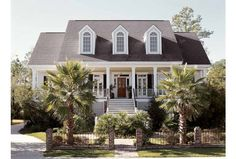 Eplans Low Country House Plan - Profound Simplicity - 3223 Square Feet and 4 Bedrooms(s) from Eplans - House Plan Code HWEPL08331