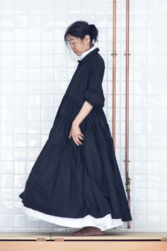 "casey casey @ egg // ""cloud"" cotton dress"