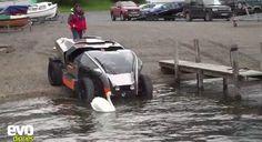 Harry Metcalfe Drives Scamander Amphibious Vehicle photo