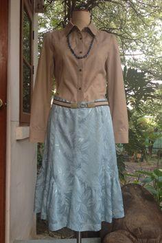 60' Fishtail skirt by VintageLoversbyHeidi on Etsy