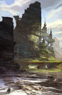 Concept Art by Feng Zhu
