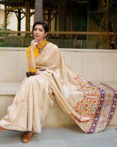 Modern Saree, Simple Sarees, Sari Blouse Designs, Saree Trends, Stylish Sarees, Elegant Saree, Saree Look, Indian Designer Outfits, Saree Styles
