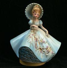Musical box doll