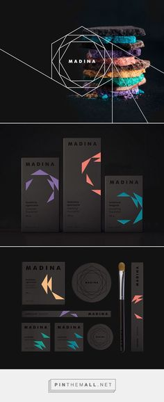 Madina Milano by Aline de Carvalho on Behance | Fivestar Branding – Design and Branding Agency & Inspiration Gallery