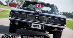 Check Out This 800hp Dodge Charger R/T with Dyer Blower