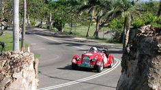 Adrian van der Kroft of Holland put in some quick drives in his Morgan +4. Built in 1959 it has been raced and rallied ever since adding Nassau to a race roster that includes Goodwood, Bahrain and five LeMans Classics.