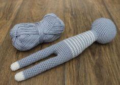 Long-legged amigurumi toys pattern