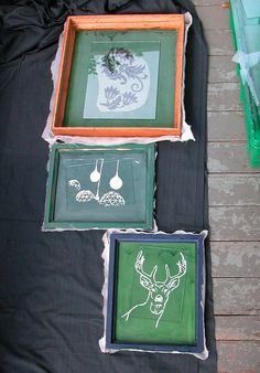 Screen Printing: Cheap, Dirty, and At Home