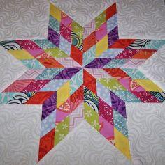 Lone+Star+Quilt+Pattern+Free+Printable | Quilting / lone star block tutorial Scrap Happy BOM Free Pattern til ...