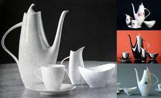 brusel expo '58: dubna 2007 Sugar Bowl, Bowl Set, Tableware, Handmade, Vintage, Atelier, Dinnerware, Dishes, Vintage Comics