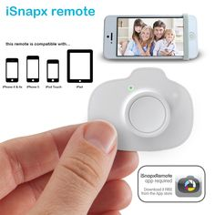 iSnapX: iPhone Wireless Shutter Remote Control - great stocking stuffer!!
