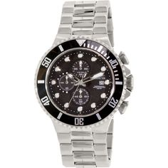 Invicta Men's Pro Diver 18906 Silver Stainless-Steel Swiss Quartz Watch