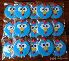 fiesta tematica gallina pintadita - Buscar con Google 1st Birthday Girls, 2nd Birthday Parties, Farm Cookies, Lottie Dottie, Fondant Cookies, Cupcakes, Ideas Para Fiestas, Fiesta Party, Baby Party