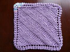 Ravelry: Garter Stitch Ribbing Diagonal Cloth pattern by Caitlin Pensak