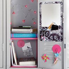 School locker ideas on pinterest lockers locker for Mirror 7th girl