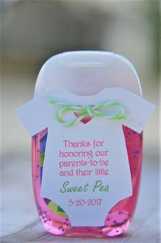 Baby Girl Baby Shower Favor Bath Body Works Sweet Pea Hand