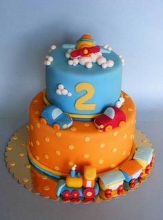Planning a celebration for your toddler's second birthday? We've gathered together some brilliant birthday cake ideas from Pinterest.From farmyard animals to Fireman Sam, check out stunning cakes for second birthdays:Love baking? Join our Create A Cake group.Follow BabyCentre on Facebook, Pinterest, Twitter, Instagram and Bloglovin'