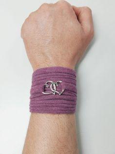 Charm Wrap Bracelet Stretch Wrist BraceletFashion by artstudio88