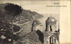 Ravello Kampanien, Panorama del Giardino Rufolo, Kirche