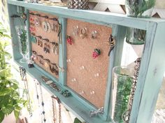 My Little House Design How to Hang an Old Window Creative