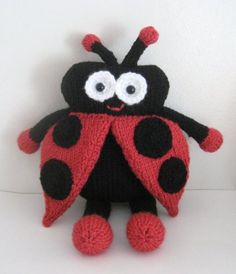 Looking for knitting project inspiration? Check out Knit Lady Bug Amigurumi Pattern by member Amy Gaines.