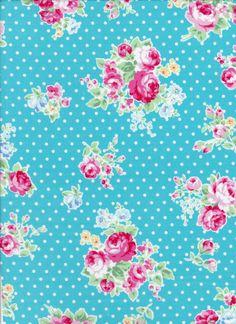 Flower Sugar Fall 2013 by Lecien 30842 71 por DonnasLavenderNest, $5.50
