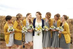159 best Yellow and Grey Wedding Ideas images on Pinterest | Grey ...