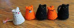 * Crocheted Kitty Cat!