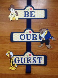 Beauty and the Beast Be Our Guest Disney Birthday Door Sign Beauty and the Beast are our guest Disney birthday door characters Beauty And Beast Birthday, Beauty And The Beast Theme, Beauty And Beast Wedding, Beauty Beast, Birthday Door, 3rd Birthday Parties, 1st Birthday Girls, Birthday Stuff, Be Our Guest Disney