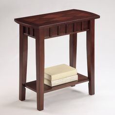 Found it at Wayfair - Dentil Chairside Table