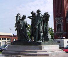 Auguste Rodin-Burghers of Calais (photo) - Огист Роден — Википедија, слободна енциклопедија