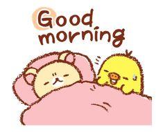 LINE Official Stickers - Rilakkuma~Kiiroitori Diary~ Example with GIF Animation Cute Good Morning Gif, Cartoon Chicken, New Sticker, Rilakkuma, Thoughts And Feelings, Doraemon, Disney Villains, Custom Stickers, Piercings