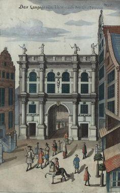 Abraham Van Den Blocke - Złota_brama_w_Gdańsku_1687