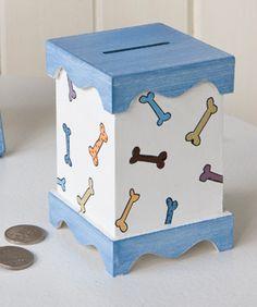 alcancias de madera para niños - Buscar con Google