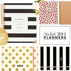 New Year, New Agenda: 15 Stylish Planners To Organize Your 2014 | StyleCaster