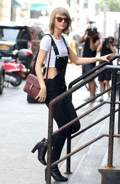 Here we have a mix between crop tops and walking.