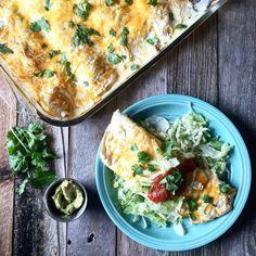 White Chicken Enchiladas – Daily Dose Of Pepper