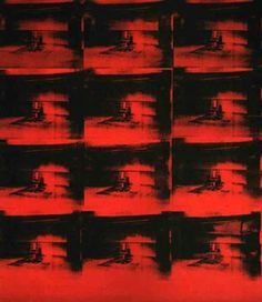Red Disaster by Andy Warhol #warhol #popart #art
