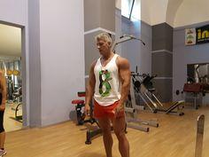 Roberto Eusebio in workout