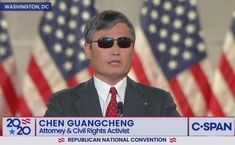 Human rights activist Chen Guangcheng who exposed forced abortion in China praises Trump's 'courage' at RNC