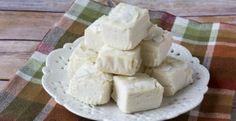 Low Carb White Chocolate Coconut Fudge