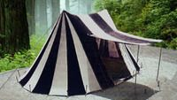 Bell Wedge Tent BLACK and WHITE 24x15x10ft High